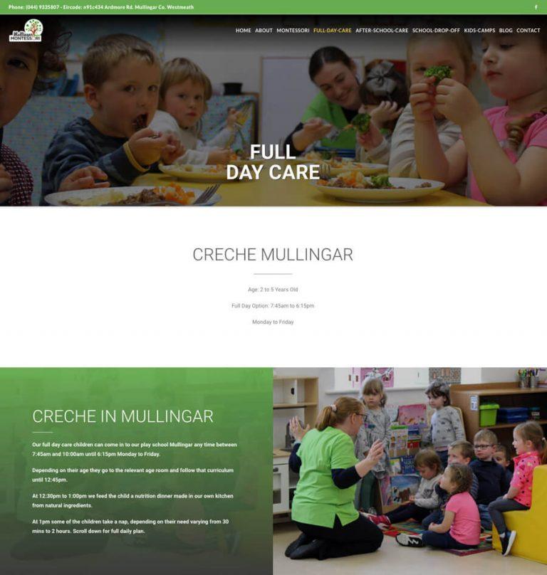full day care header