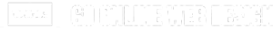 go online web design logo white