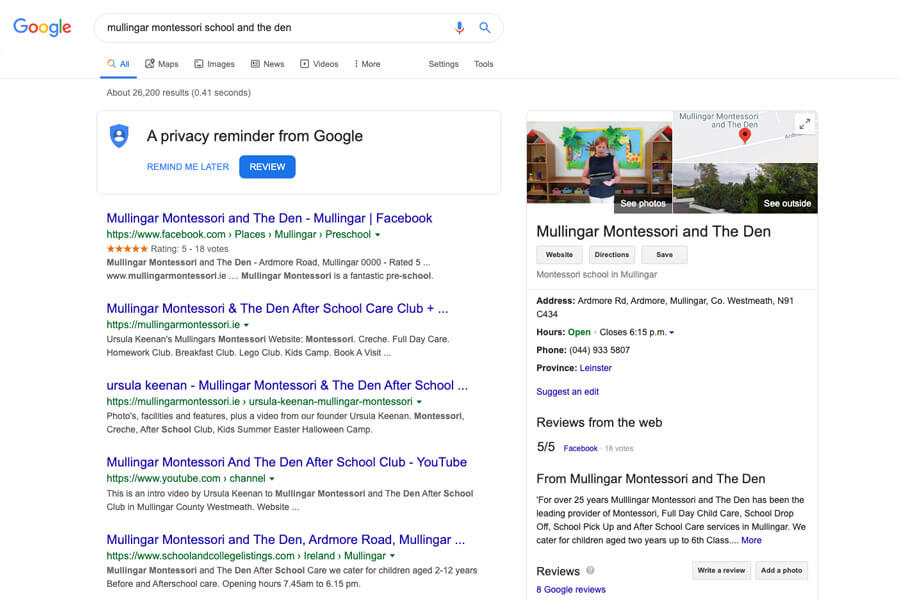 google search mullingar