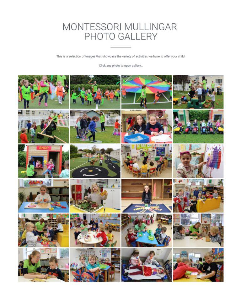 photo gallery montessori