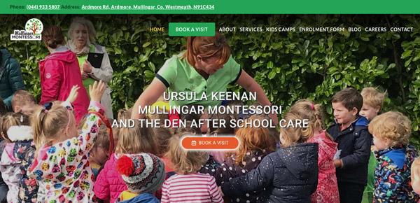 school demo full header