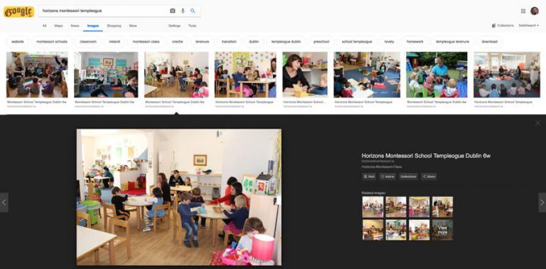 horizons montessori templeogue 1 google search