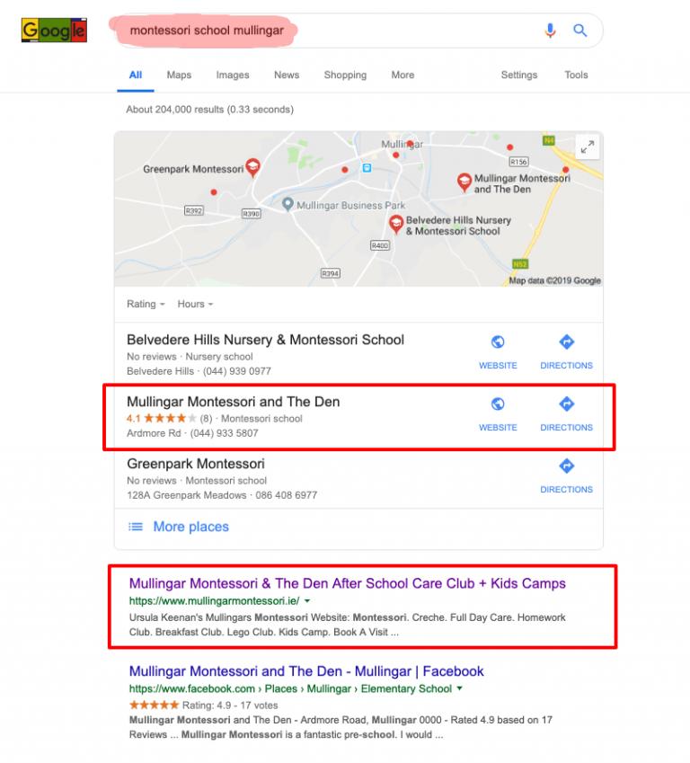 montessori school mullingar google search